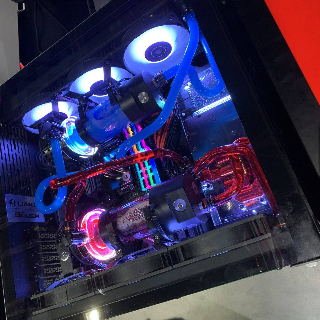 A tripped out gaming PC