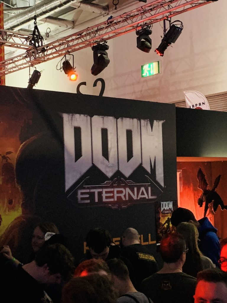 A long queue for Doom Eternal